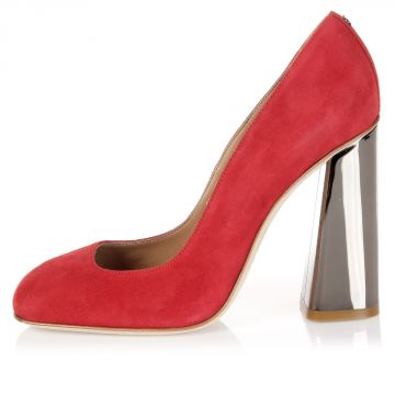 11 cm Suede Leather Pumps