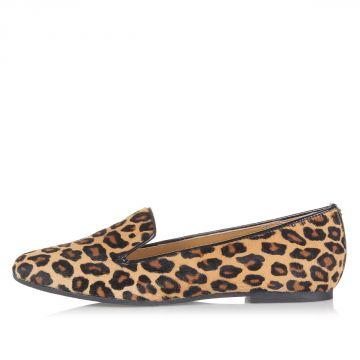Ballerine in Cavallino fantasia leopardata
