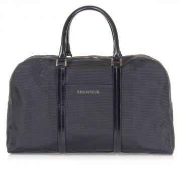 Zip Up Duffle Hand Bag