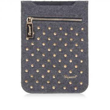 Porta tablet mini con borchie