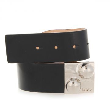 Brushed Leather Belt