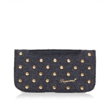 Studded IPHONE Holder with Shoulder Chain