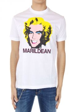 T-Shirt New Chic Dan Fit con Stampa MarilDean