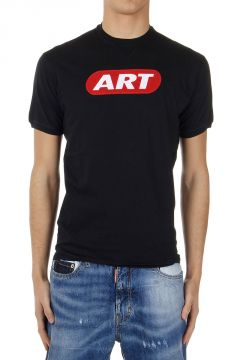 T-Shirt New Dean Fit con Stampa Art