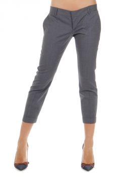 Pantaloni PAT in lana vergine stretch