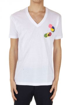 T-Shirt New Chic Dan Fit con Spille removibili