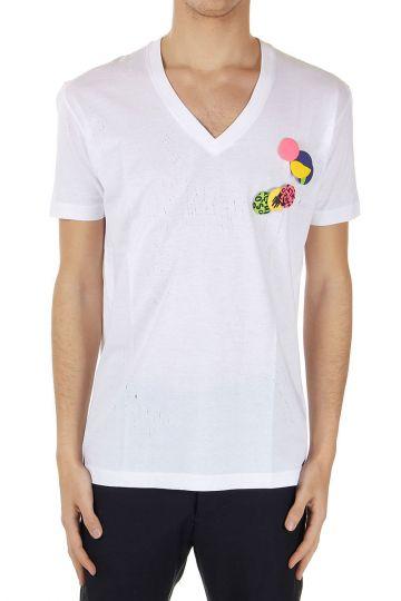 T-Shirt New Chic Dan Fit con Spille removibili