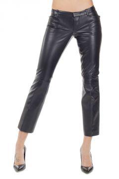 Pantalone Capri in Pelle