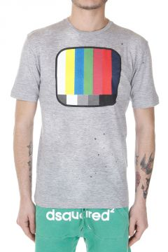 T-Shirt New Dan Fit con Stampa