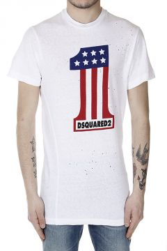Printed Holed T-Shirt