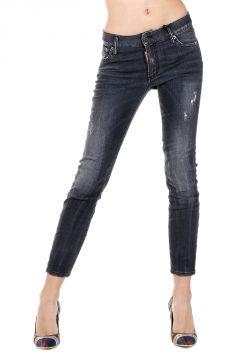 Jeans MEDIUM WAIST CROPPED TWIGGY in Denim Stretch 15 cm