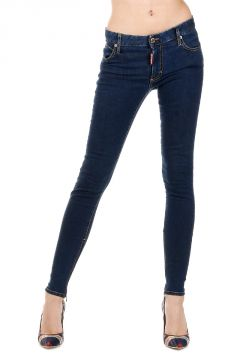 11 cm Stretch Denim MEDIUM WAIST TWIGGY Jeans