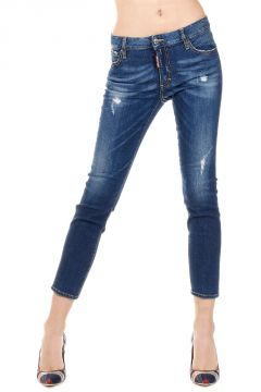 Jeans MEDIUM WAIST CROPPED TWIGGY in Denim Stretch 14 cm