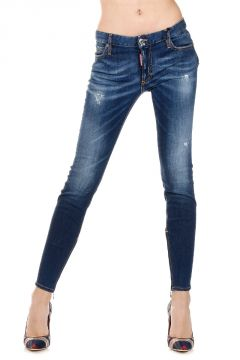 Jeans MEDIUM WAIST TWIGGY in Denim Stretch 11 cm