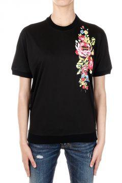Printing Round Neck T-shirt