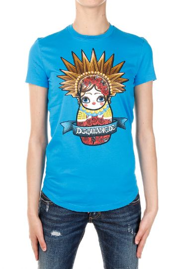 T-shirt Stampata  Matrioska