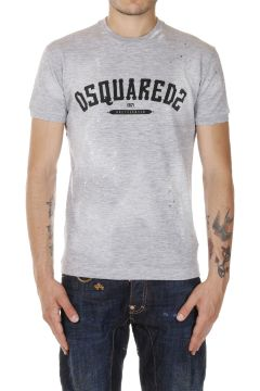 Cotton Blend T-shirt Round Neck