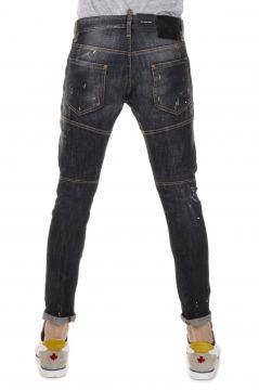 Jeans Denim Cotone Stretch TIDY BIKER JEAN 16 cm