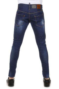 Jeans Denim stretch SEXY TWIST JEAN con Strappi 16 cm