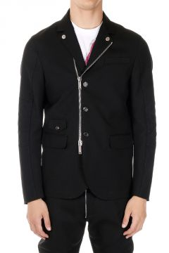 Lined Jacket in Wool