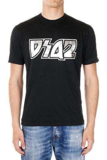 T-shirt in Cotone  Dean&Dan con Stampa