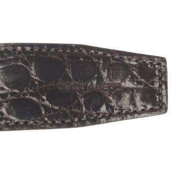 Cintura in Pelle di Coccodrillo