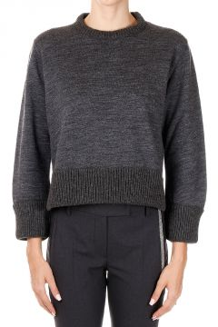 Cotton Wool Round Neck Sweater