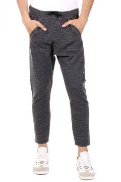 Pantaloni jogging in Lana e Cotone
