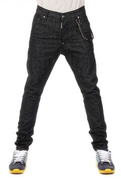 16 cm denim CLASSIC KENNY TWIST Jeans with Pocket Chain