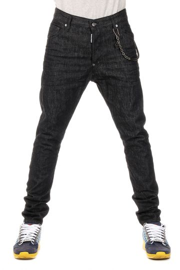 Jeans CLASSIC KENNY TWIST Dark Denim Con Catena 16 cm