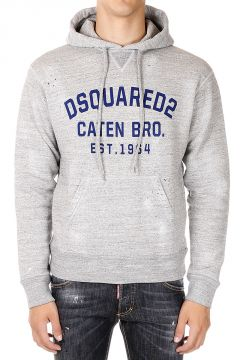 Felpa DEAN FIT  Destroyed con Cappuccio