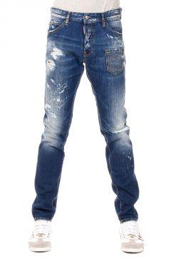 Jeans COOL GUY  in Denim Destroyed 17 cm