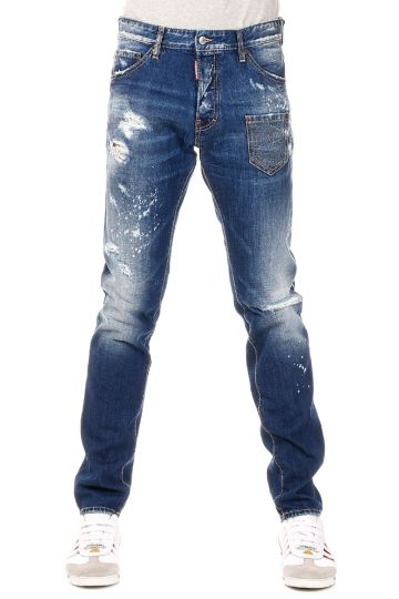 Jeans COOL GUY  in Denim Destroyed 17 cm