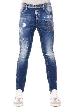 Jeans TIDY  in Denim Destroyed   16 cm