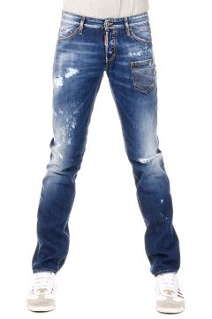18 cm Destroyed Denim SLIM Jeans