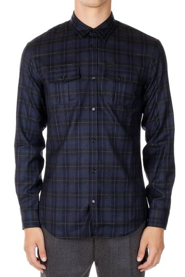 Virgir Wool Checked Shirt