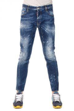 Jeans TIDY BIKER In Cotone Stretch 16 cm