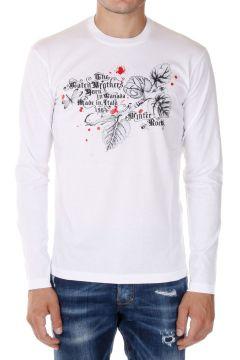 T-Shirt manica Lunga Stampata