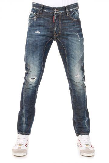 Jeans TIDY BIKER Cotone Stretch 16 cm