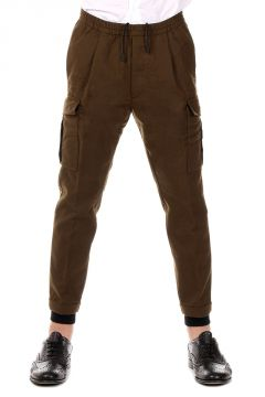 Multi Pockets Virgin wool Pants