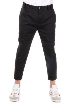 Pantalone Capri In Misto Lana
