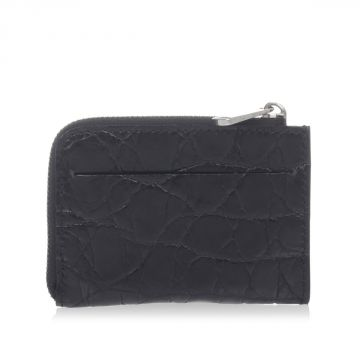 Crocodile Leather Credit Card Holder