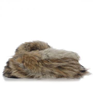 Coyote fur Scarf