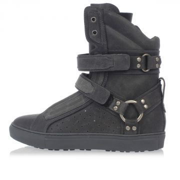 Sneakers Alta HELL'S ANGELS in pelle