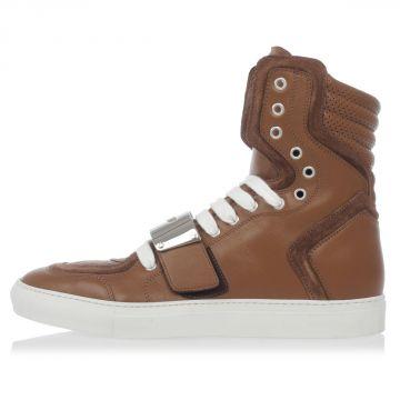 Sneakers Alta CAMBRIDGE in pelle