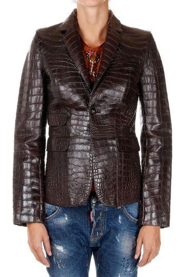 Alligator Leather Jacket