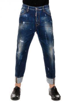 Jeans WORK WEAR in Denim con strappi  20 cm