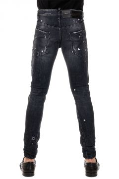 Jeans M.B. in Denim Stretch 15 cm