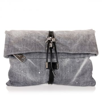 Small Clutch Jeans Hand Bag