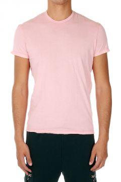 T-shirt girocollo in cotone Jersey
